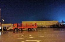 路遇一辆大货车