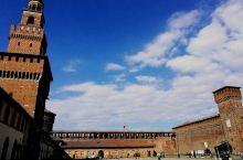意大利米兰一一斯福尔扎城堡