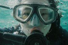 人生第一次潜水体验in关岛鱼眼海洋公园