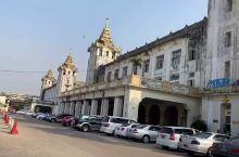 一分钟带你走近缅甸必体验之仰光环城小火车