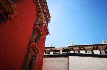 西藏朱红配蓝天
