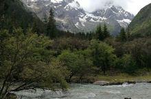 枯树滩,是一片开阔的河床,当中两条细小而清澈的河水,砂石河滩上的枯树或立或伏,立着傲然苍劲直指苍天,