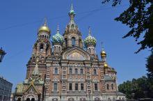 俄罗斯随手拍21-滴血教堂  救世主滴血大教堂 坐落在圣彼得堡市,教堂高81米,与莫斯科的瓦西里升天