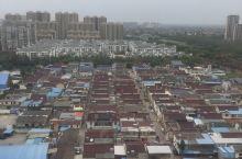 东台-盐城一个靠近海的城市-晨景空中随拍