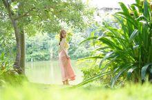 曼听公园为妃做傣的一天