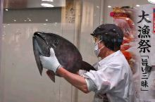 48kg重,金枪鱼解体