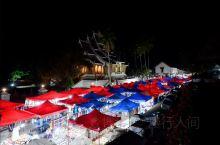 老挝的琅勃拉邦夜市,是旅行者的惦念之地