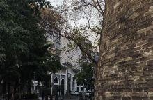 东门城楼和城墙