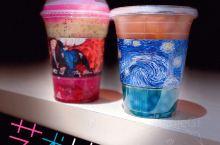 艺术油画也能喝?花甜果室艺术系列新品打卡