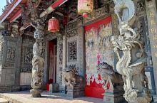 列入保護古蹟的台中林氏宗祠,書香門第的歷史建築。