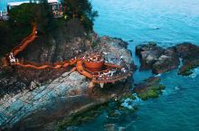 惠州海边悬崖礁石酒吧