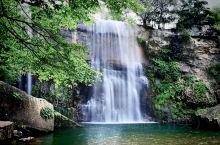青山沟的自然风景让人心旷神怡