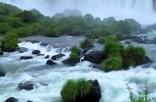天空伊瓜苏瀑布
