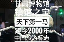"""甘肃省博物馆镇馆之宝被誉为""""天下第一马"""""""