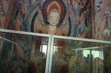 甘肃敦煌市莫高窟的壁画。
