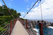 城崎海岸的吊桥十分惊险!享受东伊豆特有