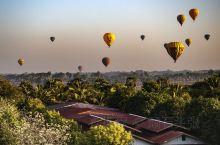 缅甸佛塔之热气球