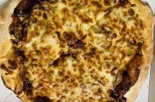 Pizza de barbacoa, está muy rica