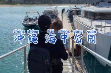 冲绳亲子游 带孩子出海喂鱼