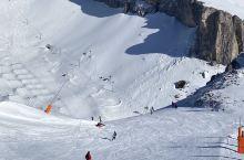 空旷如私家雪场瑞士Leysin