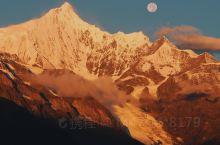 梅里雪山|去过五次看到两次绝美的日照金山