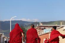 """我们此行的第二站~甘肃夏河拉不楞寺享受着""""世界藏学府""""的美誉,是活佛大师的官邸,具有完整的藏传教教学"""