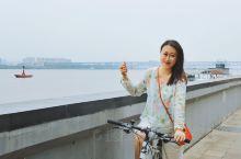佛系骑行长江骑行道,12公里只为长江大桥