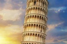 世界奇观-意大利比萨斜塔