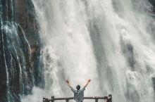 不在瑞士不在贵州,在广东就有超震撼的瀑布