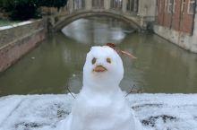 剑桥的小雪人