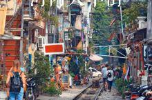 河内火车街—小清新拍照圣地