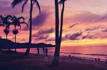 去马来西亚的亚庇,看最美丽的海滩晚霞