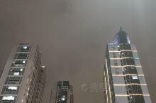 萧山的夜空
