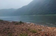 暑期即将结束陪同家人到凤城叆河上游游玩