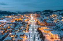 《梦幻阿尔山》国内最美 雪乡夜景