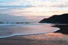阳江海陵岛北洛秘境的晚霞!海滩!真的是秘境!!!大美!!!