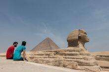 古埃及文明的代表作_狮身人面像
