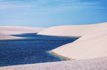 马拉赫塞斯沙漠极简白蓝天堂