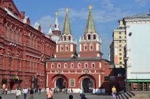 俄罗斯随手拍系列15-复活城门(Bockpecehckne BopoT)  红场 复活城门坐落在莫斯