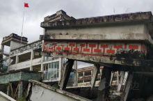 单位上周进行北川地震遗址活动