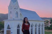 厦门小众网红打卡|藏在山上的教堂粉红墙