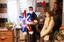 东欧人圣诞节的一天