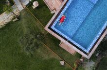 民宿探店丨屋顶天台泳池还能这么玩