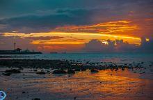 涠洲岛的晚霞