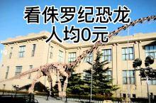 不到户外也能看大恐龙!打卡北京自然博物馆