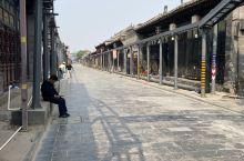 平遥古城街道的景色。