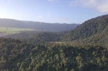 新西兰南岛,坐直升机观景