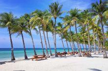 菲律宾薄荷岛海滩俱乐部酒店,日出日落好美