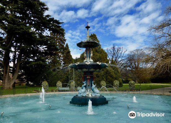 Peacock Fountain3