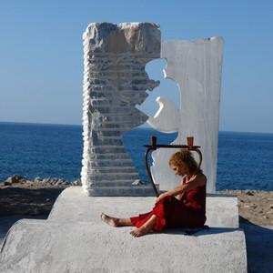 奥林匹亚游记图文-纯手工制作的阿波罗诗琴在奥运圣地为圣火奏响